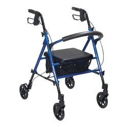 Drive Medical Seat and Handle Height Adj Rollator